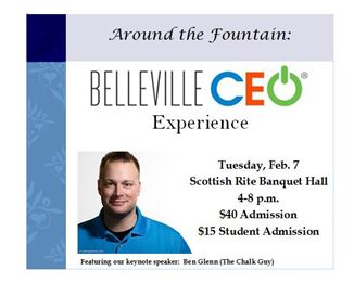 Around the Fountain:  A Belleville CEO Experience